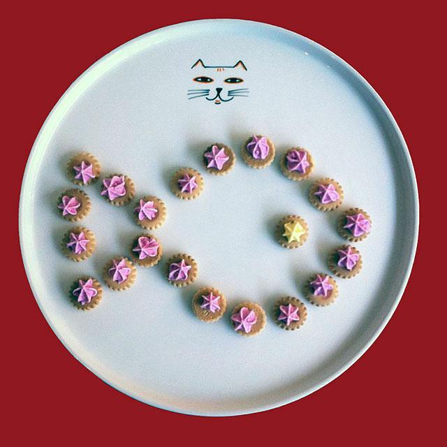 Porcelaine-Plat de Service Chat