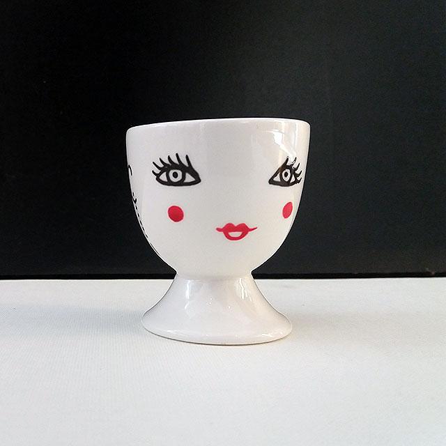 Porcelaine-Coquetier Nana-Nono (Nana Blanc)