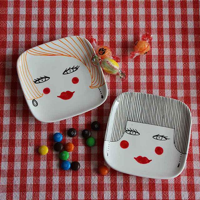 Porcelaine-Vide Poches Nana-Nono