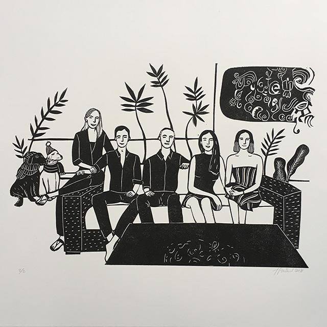 Portrait-Famille Salon