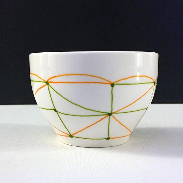 Porcelaine-Bol Graphique