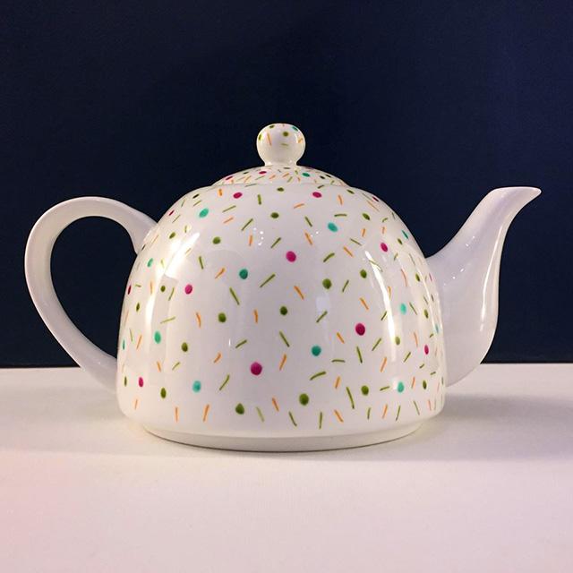 Porcelaine-Theiere Confettis