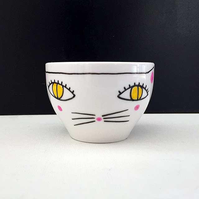Porcelaine-Bol Chat
